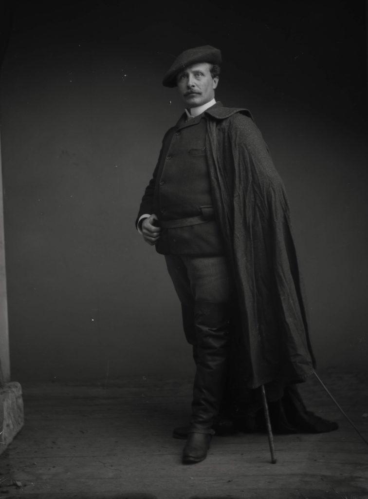 Autoportrait d'Arthur Batut