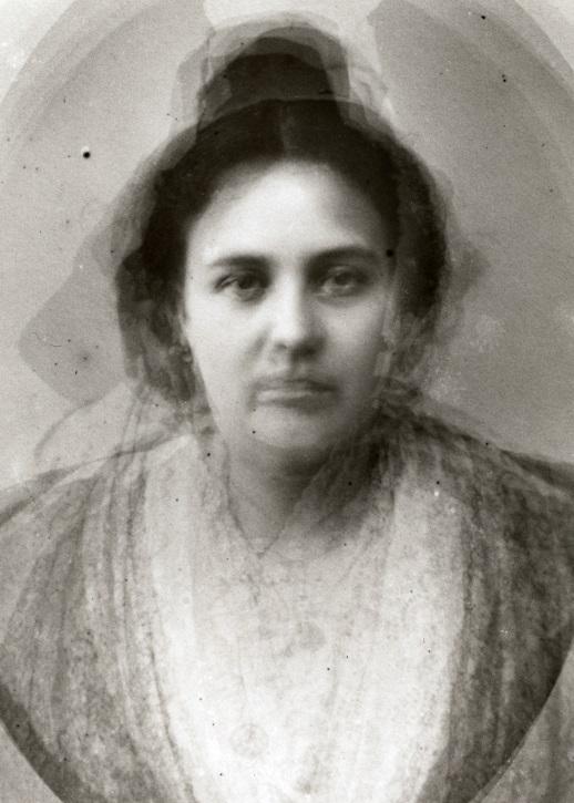 Portrait-type des femmes d'Arles par Arthur Batut