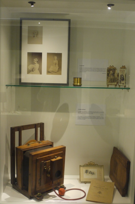 Vitrine du musée